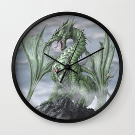 Misty Mountain Wall Clock