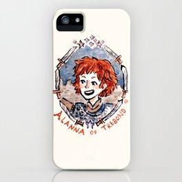 Alanna iPhone Case