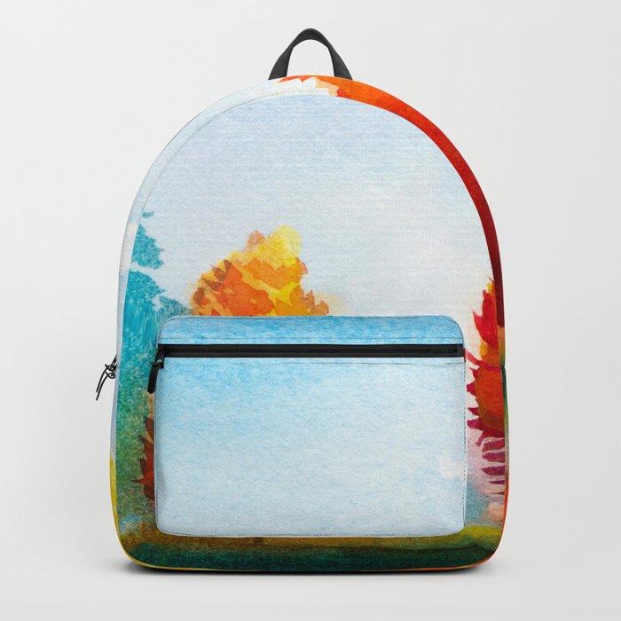 Autumn landscape #3 Backpack