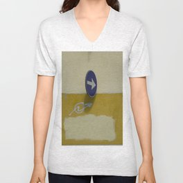Accidental Rothko Unisex V-Neck