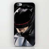 robocop iPhone & iPod Skins featuring RoboCop (2014) by Jamie Briggs