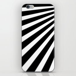 Black and White Stripes iPhone Skin