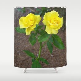 Floral Print 101 Shower Curtain