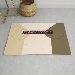 Tough Titties - Censored Version Rug