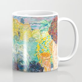 Pierre Bonnard - Paysage du Midi et deux Enfants - Landscape in Midi and two Children - Les Nabis Pa Coffee Mug