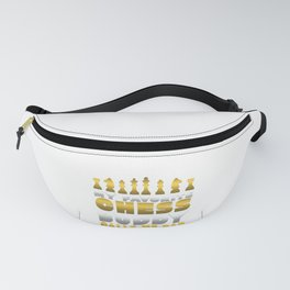 Chess Player My Favorite Chess Buddy Calls Me Dad Father's Day Gift Fanny Pack