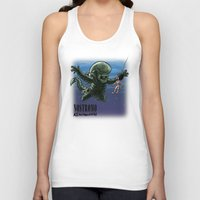 xenomorph Tank Tops featuring Nirvana : nevermind by Billy Allison