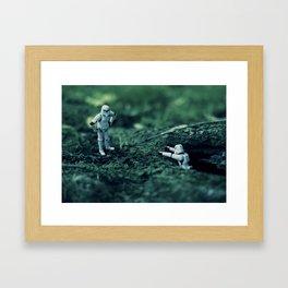 trooper hike Framed Art Print