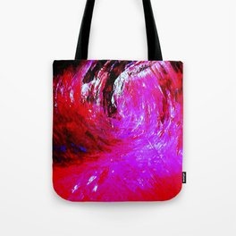Abstract Red Storm by Robert S. Lee Tote Bag