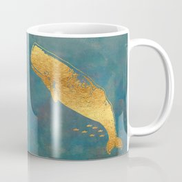 Deep Sea Life Whale Coffee Mug