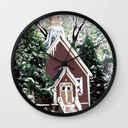 View of Yosemite Valley Chapel Wall Clock