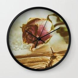 Timeworn Beauty 3 Wall Clock