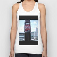 coke Tank Tops featuring Industrial Coke by Vorona Photography