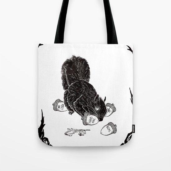 Little Acorns - The White Stripes Tote Bag