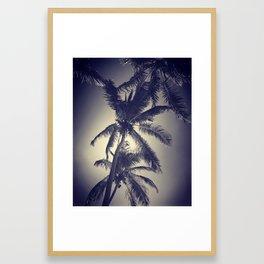 Stacked Palms Framed Art Print