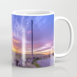 West Lomond Sunset Sky Coffee Mug