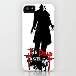 Nosferatu Travel Fast  iPhone Case