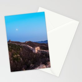 The Great Wall Moon Stationery Cards
