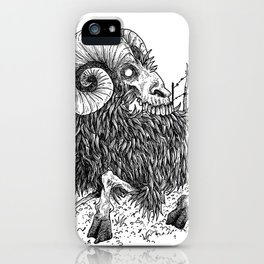 HELL'S ZODIAC - ARIES iPhone Case