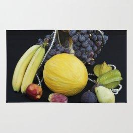 FORBIDDEN FRUITS - Oriental Still Life Rug