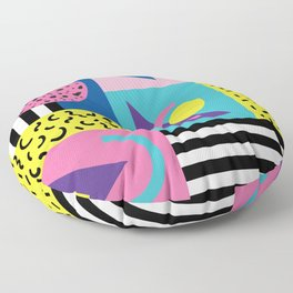 Memphis pattern 53 - 80s / 90s Retro Floor Pillow