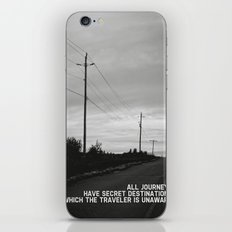 journey + destinations iPhone & iPod Skin