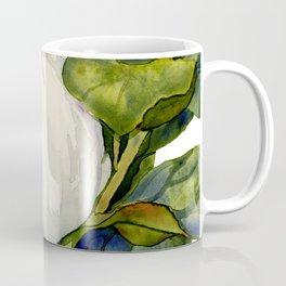 Magnolia with Leaves Coffee Mug