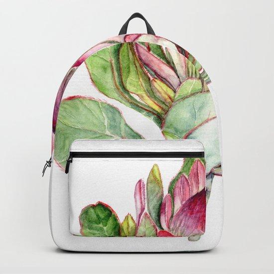 Protea Flower Backpack