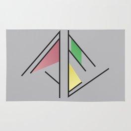 Pyramid Graphic Rug
