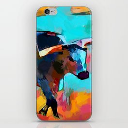 Texas Longhorn iPhone Skin