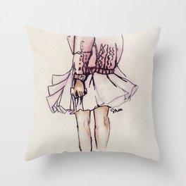 Tutu Throw Pillow