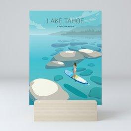Travel Lake Tahoe Mini Art Print