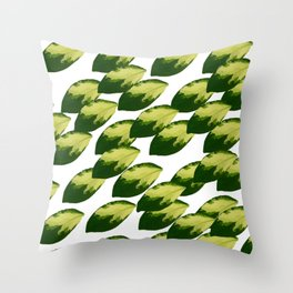 When All of the Leaves Fell Throw Pillow
