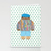 biggie Stationery Cards featuring Biggie by Late Greats