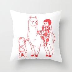 Alpizzaca Throw Pillow