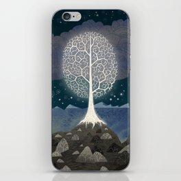 The white tree iPhone Skin