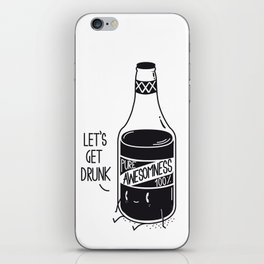 Pure awesomness iPhone Skin