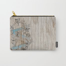 VV wood style Carry-All Pouch