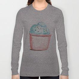 Mint Chocolate Ice Cream Long Sleeve T-shirt
