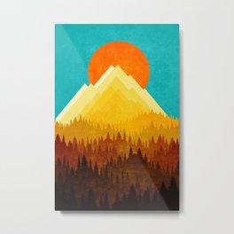 Sunny Hill Metal Print