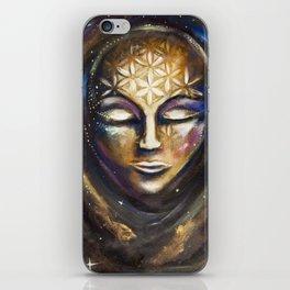 Cosmic Spiritual Birth iPhone Skin