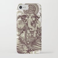ganesh iPhone & iPod Cases featuring Ganesh by _MattVector