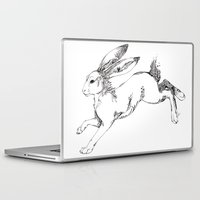 hare Laptop & iPad Skins featuring Hare by FireofAnubis