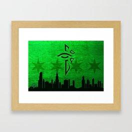 Chicago Enlightened 01 Framed Art Print