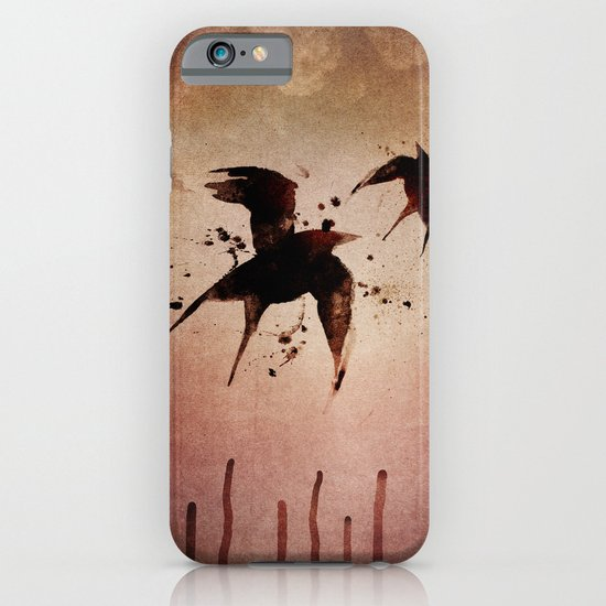 On your fears,  ... swallow them.   iPhone & iPod Case