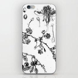 Botanical #CHERRIES iPhone Skin