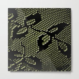 olive lace Metal Print