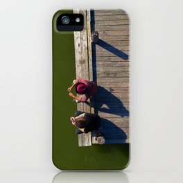 Summers on the Dock iPhone Case