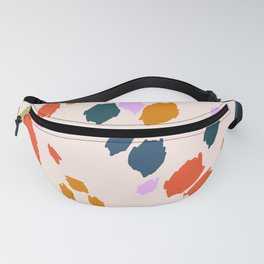 Rainbow Animal Print  Fanny Pack