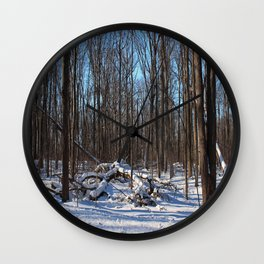 Time Forgives the Past Wall Clock